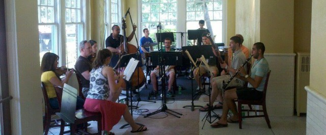 CutTime Players rehearsal at Hot Springs Music Festival