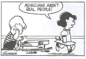 Musicians Arent Real People
