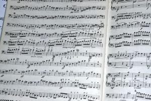 Bass part of Mendelssohn Symphony #5